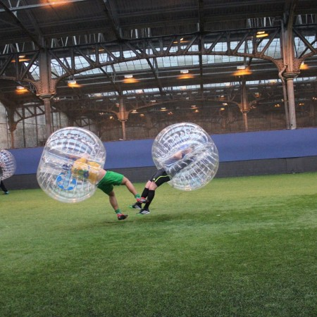 Bubble Football Derby, Derbyshire