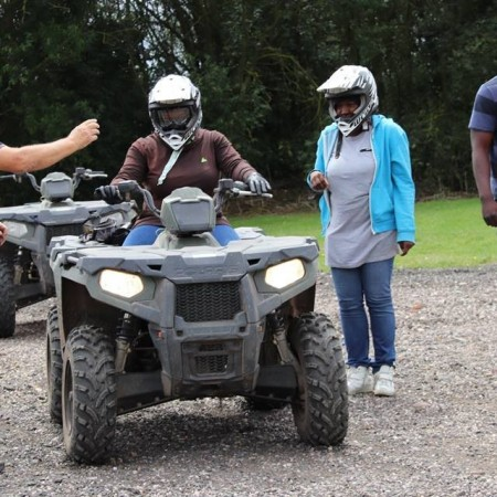 Quad Biking Lea Marston, West Midlands