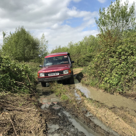 4x4 Off Roading Romsey, Hampshire