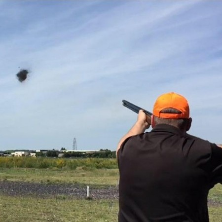 Clay Pigeon Shooting Eriswell, Suffolk, Suffolk