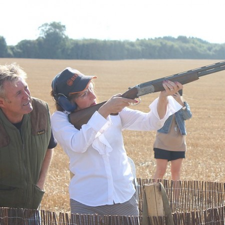 Clay Pigeon Shooting Coldred, Kent, Kent