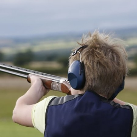 Clay Pigeon Shooting Tapnell Farm, Isle Of Wight, Isle Of Wight