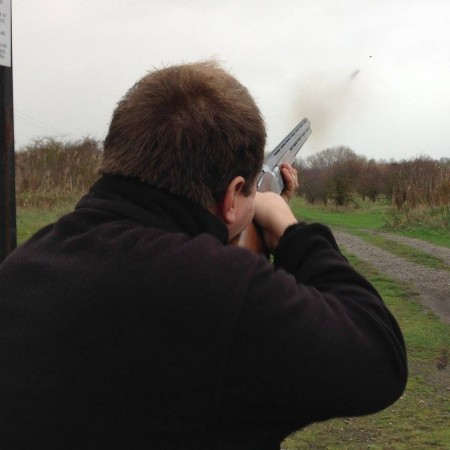 Clay Pigeon Shooting Castle Donington, Derbyshire