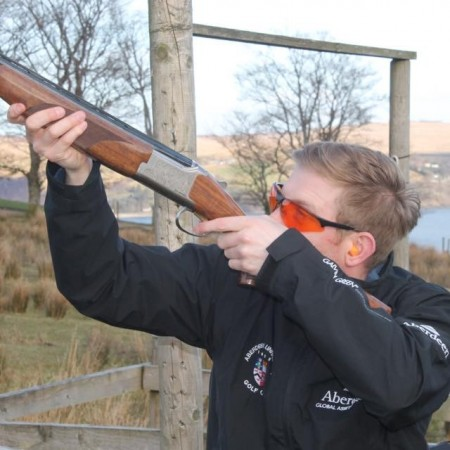 Clay Pigeon Shooting Blairmore, Nr Dunoon, Argyll and Bute