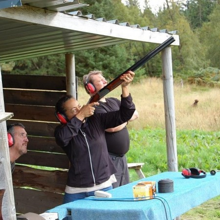 Clay Pigeon Shooting Newtonmore, Invernesshire, Highland