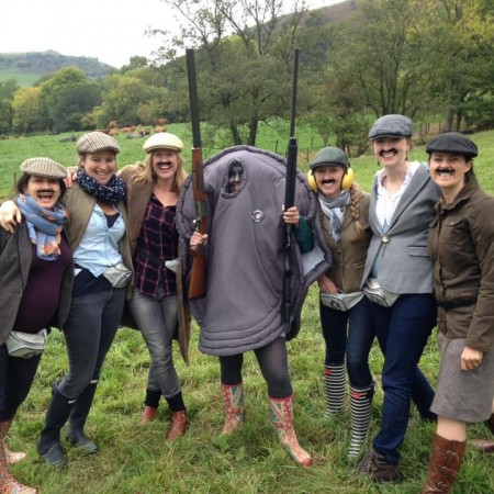 Clay Pigeon Shooting Brecon, Powys, Powys