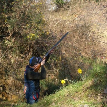 Clay Pigeon Shooting Bean, Nr Dartford, Kent