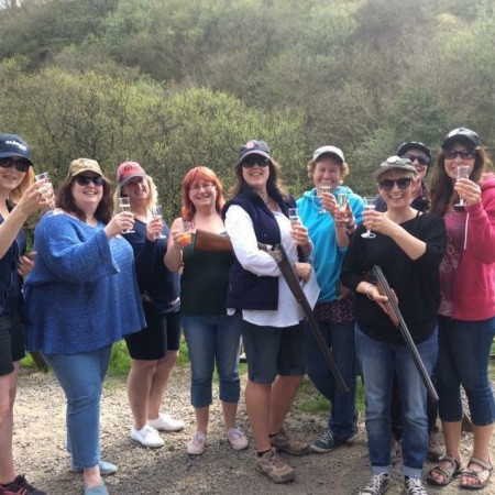 Clay Pigeon Shooting Ilfracombe, Devon, Devon