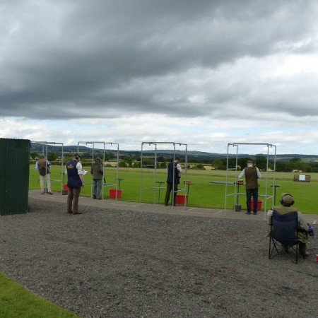 Clay Pigeon Shooting Felton, Nr Morpeth, Northumberland