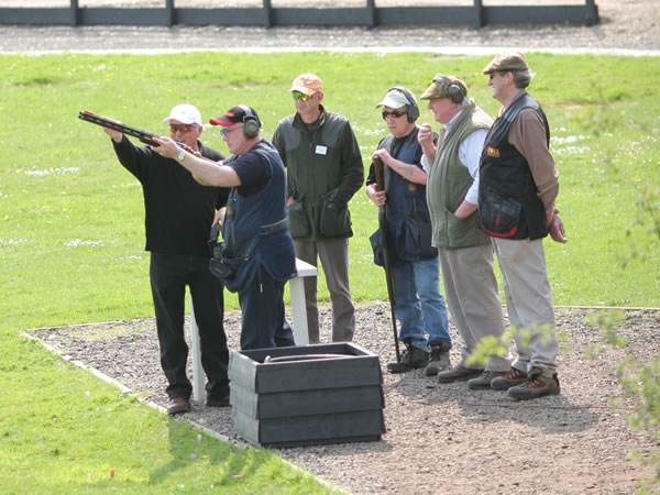Clay Pigeon Shooting Darsham, Suffolk, Suffolk