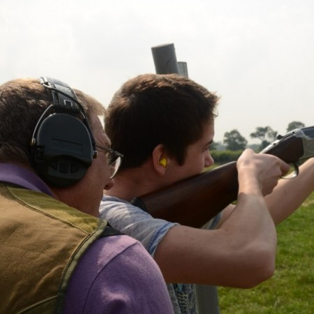 Clay Pigeon Shooting Sturminster Newton, Dorset