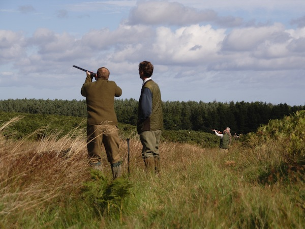 Clay Pigeon Shooting Leadon Roding, Essex