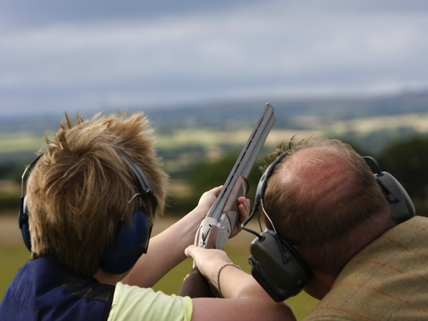 Clay Pigeon Shooting South Milford, Nr Leeds, West Yorkshire