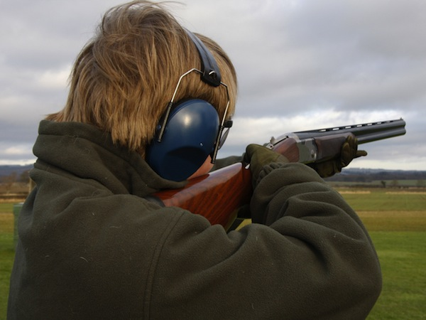 Clay Pigeon Shooting Portishead, Bristol, Avon